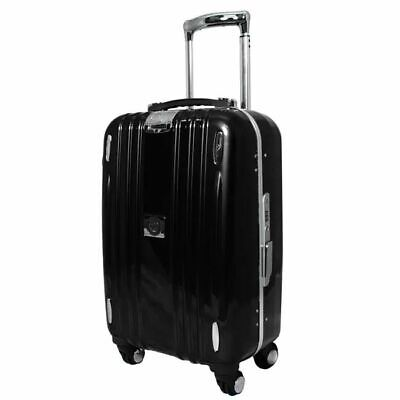 "Heys Crown Elite M series hardside black luggage case 22"" retail $500 htf now"