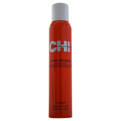 Shine Infusion Thermal Polishing Spray by CHI for Unisex - 5.3 oz Hairspray Chi Shine Infusion
