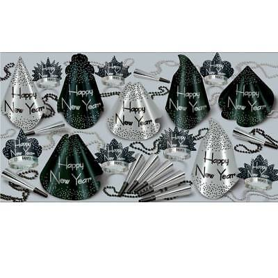New Years Eve Party Sparkling Silver 25-Person New Year Party Kit](New Years Eve Party Kit)