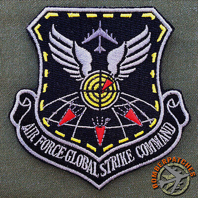 B-52 Weapons School Global Strike Command Morale Patch, Barksdale Minot AFB USAF, used for sale  Kansas City