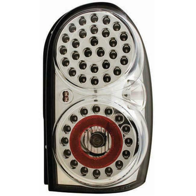 IPCW LEDT-410C Jeep Liberty 2002 - 2007 Tail Lamps LED Crystal Clear