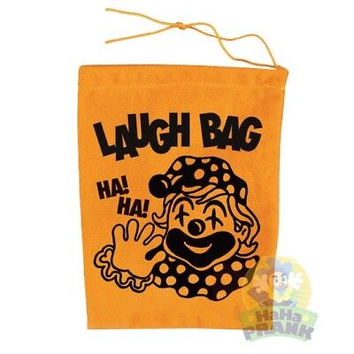 Laugh Bag - Laughing Sound Clown Prank Joke Funny Bag Gift Squeeze Trick Toy (Clown Bag)