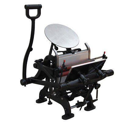 Brand New 7.5 X 9.9 Manual Letterpress Printing Machine For Hand Printing Fan