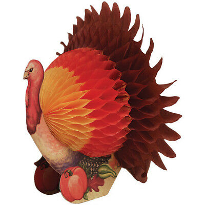 Turkey Centerpiece 6 Inch Fall Thanksgiving Party Decorations