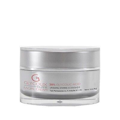 Glycolix Elite 20  Glycolic Acid Facial Cream 1 6 Fl Oz