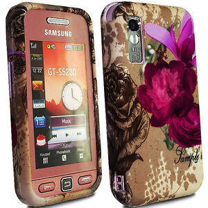 Soft Silicone Gel Case Cover FOR Samsung TOCCO LITE S5230 Free Screen Protector