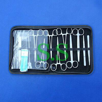 14 Pcs Minor Surgery Kit Surgical Instruments Forceps Ds-1106