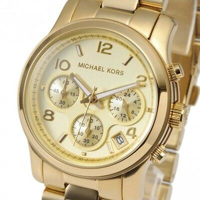 Michael Kors Mid-Size Runway MK5055 Wrist Watch for Women