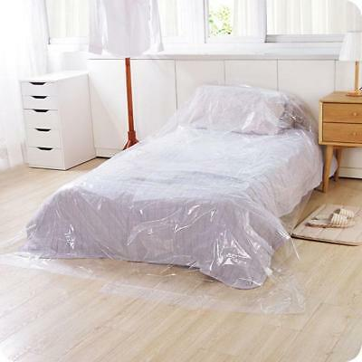 Clear Vinyl Furniture Protector - Large Sofa Bed Furniture Cover G