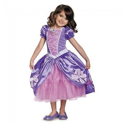 Disguise Sofia die Erste Next Chapter Deluxe Mädchen Halloween Kostüm 99497 ()