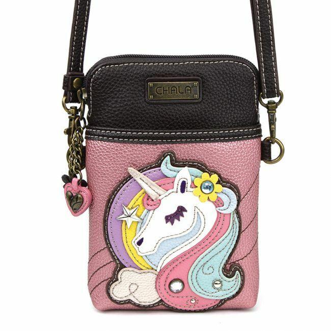 Chala - Unicorn - Cellphone Crossbody Handbag