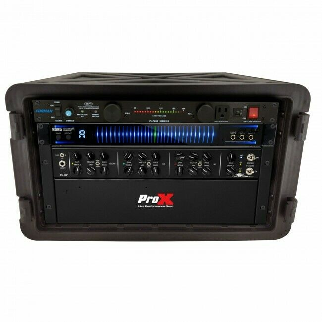 Pro X VaultX 6U Rack Air-tight, Water-sealed ABS Case
