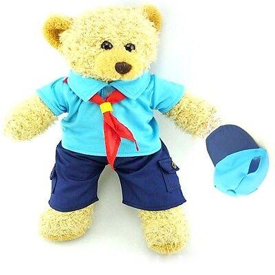 Teddy Clothes fit Build a Bear Teddies Beaver Style Uniform & Cap Bears Clothing