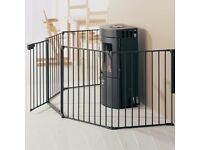 Baby dan 3-in-1 playpen, safety gate and room divider