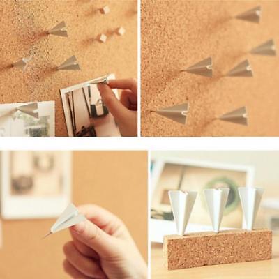 6pcs Novelty Plane Pushpins Office Drawing Pin Thumbtack Metal Gift Al