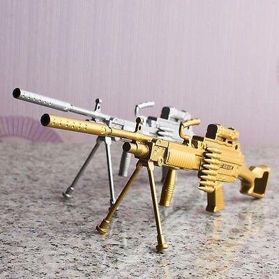 Machine Gun Miniature Model Ballpoint Pen Toy Interior Decoration Decor DIY Prop