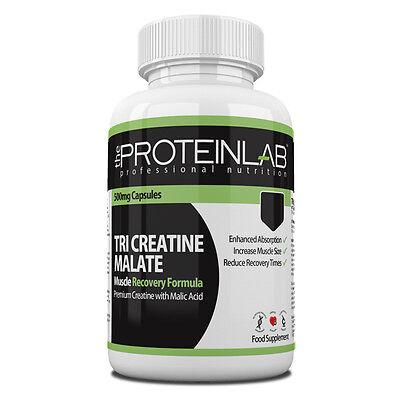 Tri Creatin Malate Stickstoffmonoxid Booster Energie Erhöhen Muskel Größe Anabol ()