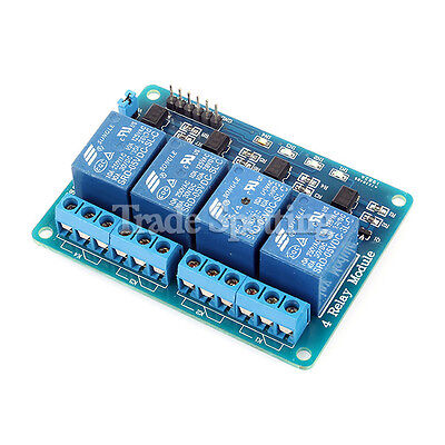 5v 4-channel Relay Module Shield For Arduino Arm Pic Avr Dsp Raspberry Pi Us