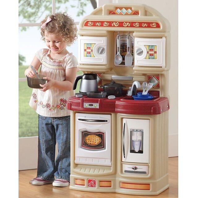 Play Kitchen Set pretend play kitchen set cooking refrigerator kids toddler role
