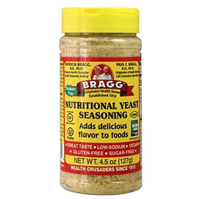Bragg Nutritional Yeast Seasoning 4.5 oz Jar