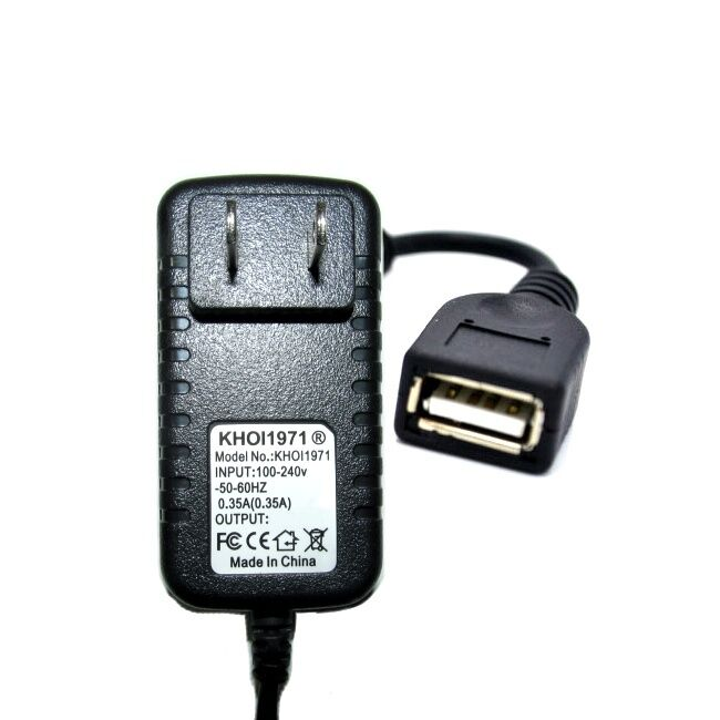 WALL charger 4-FT USB EXTEND FOR CX Sony Handycam HD Flash M