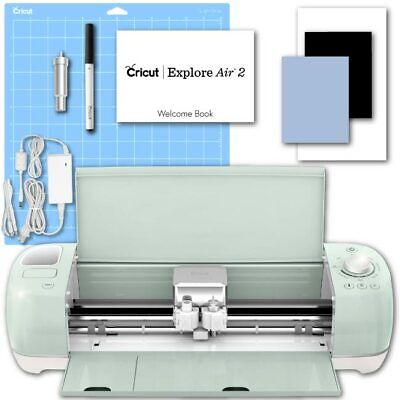 Used, Cricut Explore Air 2 Mint Machine Electronic Digital Vinyl Die Cutting DIY for sale  Shipping to Nigeria