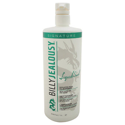 LiquidSand Exfoliating Facial Cleanser by Billy Jealousy Men - 33.8 oz Cleanser