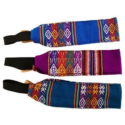 #4258 Cotton Manta Headbands 12 Pack Wholesale Assorted Lot Peru Fair Trade New