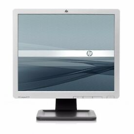 """HP LE1711 17"""" TFT Monitor with VGA lead and Power Cable Quantity Available"""