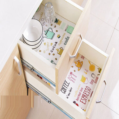 Cabinet Table Shelf Useful Kitchen Non-Slip Placemat Pad Dra