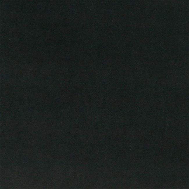 Designer Fabrics K0000C 54 in. Wide Black Authentic Cotton Velvet Upholstery ...