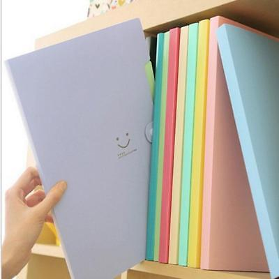 5 Layers Pockets Paper File Folder Fresh Cover Holder Document E99z