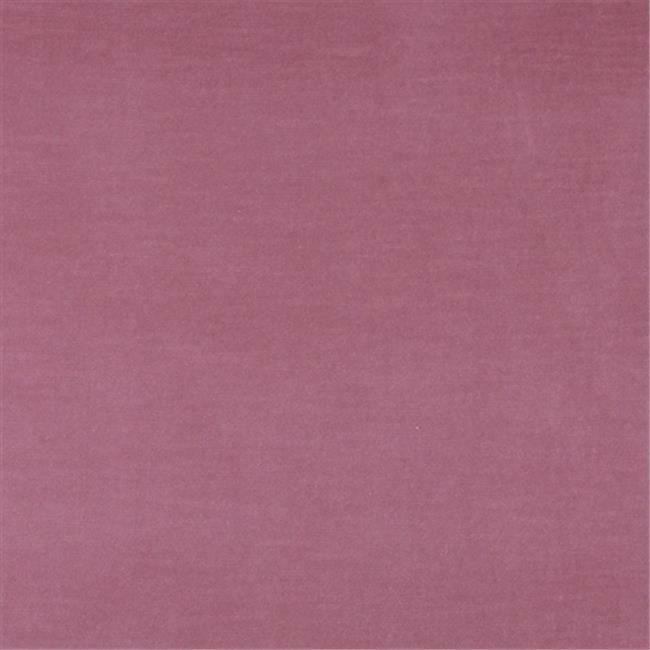 Designer Fabrics K0001B 54 in. Wide Pink Authentic Cotton Velvet Upholstery F...