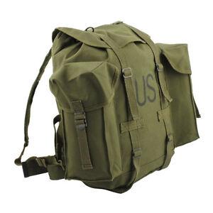 Fostex-esercito-INDIETRO-PACCO-MOTO-Zaino-Verde-oliva-cotone