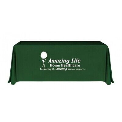 Custom Printed Trade Show Table Cover 6 Table