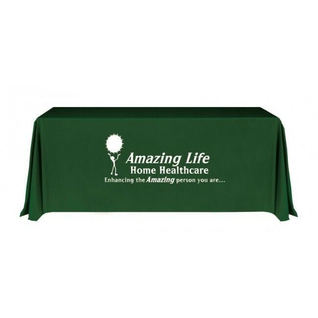 Custom Printed Trade Show Table Cover (6