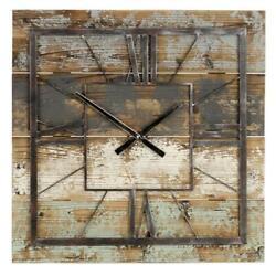 Aspire Home Accents 5087 Weston Square Wall Clock Multicolor