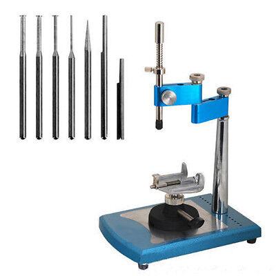 Adjustable Dental Lab Parallel Surveyor Visualizer Equipment 7 Spindles Warranty