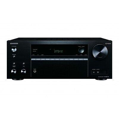 Onkyo TX-NR575E 7.2 Network A/V Receiver Dolby Atmos 4k DTSX TXNR575NEW - Black