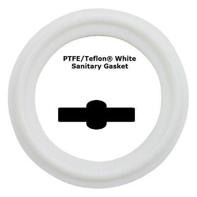 Sanitary Gasket Tri Clamp Style 2 Ptfeteflon White Price For 1 Pc
