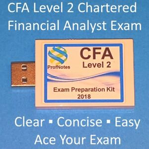 Chartered Financial Analyst CFA Kaplan Schweser L2 2018 Textbook