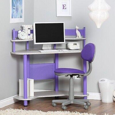 Kids Furniture Corner Desk - Kids Corner Home Furniture Desk Workstation Computer Top Table Study Room Office