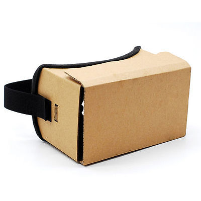 NEW DIY Virtual Reality 3D VR Box Virtual Reality Glasses Cardboard Glasses 8364