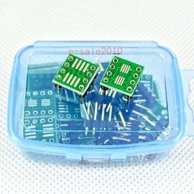 20 Pcs Sop8 So8 Soic8 Tssop8 Msop8 To Dip8 Adapter Pcb Conveter Board Diy 239a