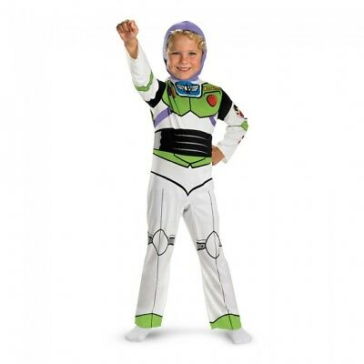 Disguise Toy Story Buzz Lightyear Klassisch Kind Jungen Halloween Kostüm 5230 (Buzz Toy Story Kostüme)