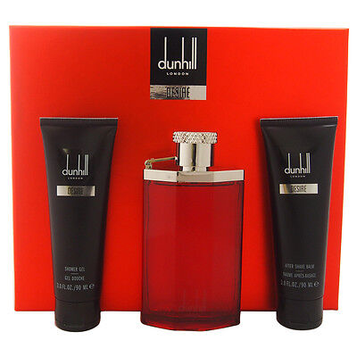 Gift set Dunhill Black by Alfred Dunhill EDT Spray 3.4 oz An