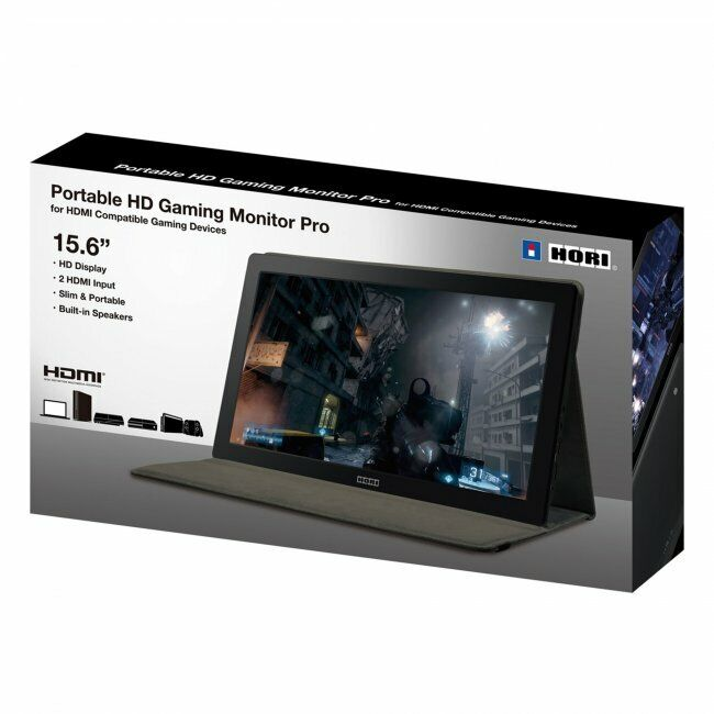 HORI 15.6 inch LCD Portable HD Gaming Monitor PS4 XBOX One