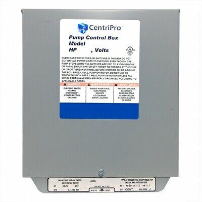 Cb30412cr Goulds 3hp Cscr Control Box 230v