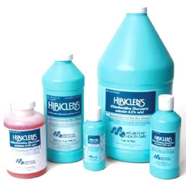 HIBICLENS ANTISEPTIC LIQUID SKIN CLEANSER 4oz, 8oz, 16oz, 32oz, & GALLON JUG