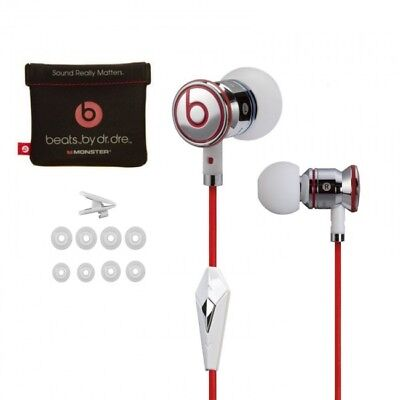 Beats by Dre iBeats Earbuds - White **Brand New**